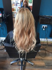 After Tape-in Hair Extensions